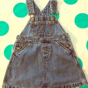 Gap Overall Dress!